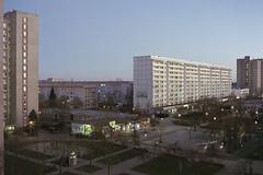 twilight (flyerkat_L.E.) Tags: leipzig city film analog nikon fm2 fujisuperia400 35mm