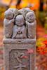 Kyoto, Japan (Aicbon) Tags: verde kyoto kioto japan japon nipon asia asiatic escultura temple momiji autum otoño tardor figuretes ninots nens budismo budista color colors red orange nice cute kawaii japanese