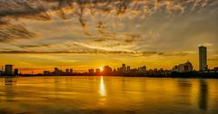 Boston Sunrise over the Charles River (ADFitz1967) Tags: boston sunrise charlesriver cityscape river dawn golden
