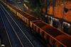 Trem de terra (Otacílio Rodrigues) Tags: veículo trem trilhos tracks terra earth transporte transportation vagões freightcars carga charge ferrovia railroad resende brasil oro