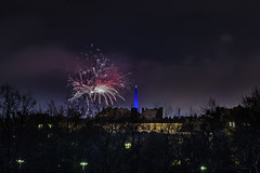 _MG_5246 WOSP 2017. (Sakuto) Tags: fireworks light night city poznan wosp landscape tower blue colors outdoor colorful poland sky