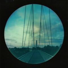 La passerelle d'Agen (Martin PEREZ 68) Tags: aquitaine agen garonne pont passerelle bridge polaroid impossibleproject impossible instant instantané instantfilmcolor lotetgaronne