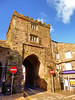 Launceston, Cornwall (photphobia) Tags: cornwall launceston building architecture outdoor outside oldtown city oldwivestale street road gatehouse