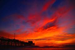 Fire In The Sky............. (law_keven) Tags: california america usa clouds orange oc orangecounty