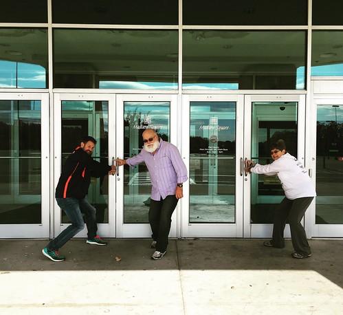 Doors Locked - Madison Square Mall