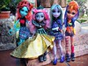 (Linayum) Tags: lornamcnessie mouscedesking twyla howleenwolf mh monster monsterhigh mattel doll dolls muñecas toys juguetes linayum