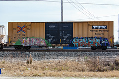 (o texano) Tags: hower houston texas graffiti trains freights bench benching live