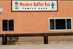 Western Coffee Pot, Yucca Valley California (Cragin Spring) Tags: westerncoffeepot sign coffee california ca unitedstates usa unitedstatesofamerica southerncalifornia cafe yuccavalley yuccavalleyca yuccavalleycalifornia