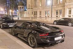 Dark Knight (Beyond Speed) Tags: porsche 918 spyder supercar supercars automotive automobili nikon v8 cars car carspotting london black
