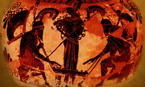 "Petteia - Ludus Latrunculorum  / Iconografía de las civilizaciones helenolatinas • <a style=""font-size:0.8em;"" href=""http://www.flickr.com/photos/30735181@N00/32522207395/"" target=""_blank"">View on Flickr</a>"