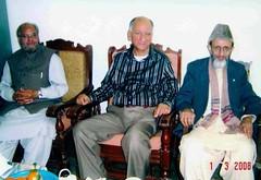 From Left-Dr.Tehseen Firaqi, Khwaja A. R. Tariq & Dr. Rafiuddin Hashmi (Rashid Ashraf) Tags: ڈاکٹر رفیع الدین ہاشمی،drrafiuddinhashmi