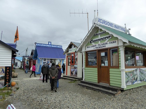 Excursions are big business in Ushuaia