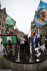 OPawakening Gent (Red Cathedral uses albums) Tags: sony a6000 eventcoverage sonyalpha mirrorless alpha occupy anonymous opawakening gent riot mask maskedfaces vforvendetta guyfawkes