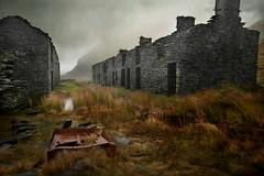 Ghosts of Rhosydd (PentlandPirate of the North) Tags: blaenauffestiniog tanygrisiau cwmorthin rhosydd slate mine quarry snowdonia barracks gwynedd northwales ruins derelict