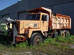 Town of Wallkill, NY 1990 International Paystar F-5070 dump-plow - truck No. 151_1 (JMK40) Tags: international paystar 5070 cummins ntc315 bigcam viking ny town highwaydepartment government municipal dump snow plow sander truck wallkill