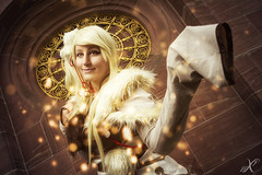 Ninetales (WorldXPhotography) Tags: worldxphotography frankfurter buchmesse 2016 convention pokemon ginjika cosplay ashizu higawa ninetales nine tails vulnona warm fire feuer particles epic