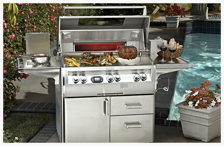 "Fire Magic 36"" E790 cart grill"