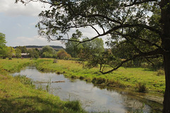 River View @ Eynsford Kent (Adam Swaine) Tags: uk summer england english rural canon river landscape countryside kent walks britain rivers tranquil riverdarent eynsford darent englishrivers