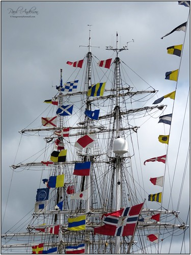Flags Galore, Tall Ships 2015, Belfast, Northern Ireland