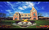 Welcome to Disneyland (Jérôme Castilloux) Tags: flowers blue sky clouds mouse nikon mainstreet angle disneyland wide entrance mickey trainstation 24mm f28 d3 singleexposure nonhdr plainjoe isayx3