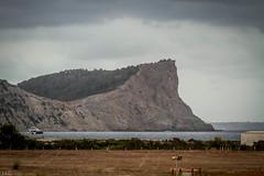 Atardecer nuboso en Cap Falco (ibzsierra) Tags: sunset sea costa canon coast mar ibiza cap 7d eivissa nube clod baleares falco 70200isusm