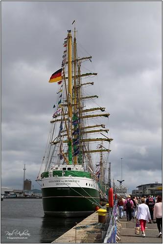 Alexander von Humboldt II, Tall Ships 2015, Belfast, Northern Ireland