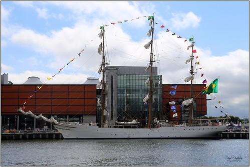 Cisne Branco, Tall Ships, Belfast, Northern Ireland 2015