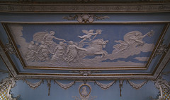 Shugborough, Staffordshire, room decoration (groenling) Tags: uk greatbritain boy england horse house naked nude estate britain nt room border decoration ceiling parade relief torch chamber gb cherub cupid manor nationaltrust staffordshire westmidlands chariot shugborough cartouche putto