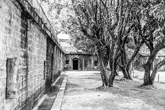 IMG_1617 (Michael Lee~) Tags: old bw white black building art canon eos blackwhite taiwan 台灣 建築 黑白 tw chineseculture 佳能 角落 小品 藝術 砲台 古老 戶外 新手 單色 700d eos700d