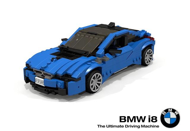 auto summer sports car electric germany bavaria model lego render 94 german bmw hybrid coupe supercar challenge cad sportscar lugnuts elves povray moc 2014 i8 ldd miniland buildoff foitsop lego911 apeasetheelvessummerautomobilebuildoffpart2