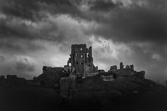 where the dragons play too (stocks photography.) Tags: castle stocks corfecastle blackwhitephotography stocksphotography michaelmarsh