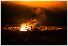 in front of clouds of fire (i.v.a.n.k.a) Tags: night island volcano hawaii lava big glow sony crater alpha ivana eruption kilauea halemaumau hesova