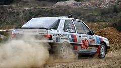 Swen Pnitz - Jens Barthel // Peugeot 309 GTI (kly420) Tags: jens gti peugeot gravel 309 swen 2015 schotter barthel kiesgrube wp6 pnitz rallyezwickauerland img42001 kly420