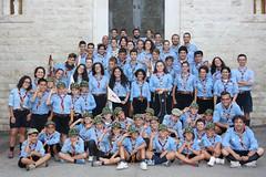 Foto di gruppo al campo estivo 2015