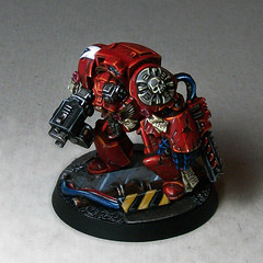 Brother Damaris (Duca Strige) Tags: infantry angel blood 40k warhammer terminator squad alphaeus deathstorm