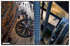 151017_125213 (Snappist) Tags: museum interior escalator belfast lookingdown titanic archiecture