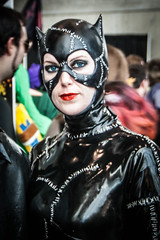 Catwoman Returns (misterperturbed) Tags: newyork catwoman newyorkcomiccon nycc2015 newyorkcomiccon2015