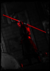 Bandai S.H.Figuarts Star Wars - Darth Maul (Ed Speir IV) Tags: fiction red film movie toy actionfigure star starwars force action alien evil science disney lucas darth figure scifi sciencefiction lightsaber wars phantom villain sith darthmaul menace enemy maul bandai phantommenace shfiguarts figuarts