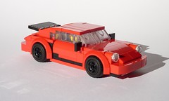 Porsche 911 Turbo 3.3 (MOCs & Stuff) Tags: city speed town model lego g 911 turbo porsche modell champions 930