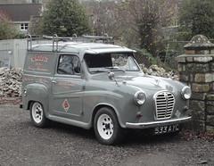 1958 AUSTIN A35 VAN (shagracer) Tags: light austin van a30 a35 533ayc
