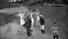 Three Koreans executed by the Japanese - 1906 (SSAVE w/ over 2,500,000 views THX) Tags: shoot korea 1906 capitalpunishment execution crucify crucified japanesseoccupation