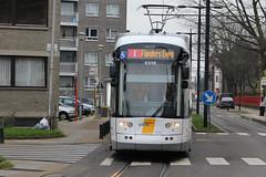 Flexity 2 6356, Begijnhoflaan, Ghent (Tetramesh) Tags: belgium belgique belgie belgi tram ghent gent gand flanders belgien belgio delijn blgica gwladbelg vlaanderen oostvlaanderen belgia leiestreek blgica eastflanders belga belika belgicko beija belgija belgjik belju blxica anbheilg  tetramesh b    ubelgiji
