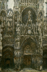 "Claude Monet's ""Rouen Cathedral"" (Greatest Paka Photography) Tags: claudemonet rouencathedral painting art museum louvre paris france normandy frenchimpressionism series artist light perception gothic facade illustrate museedorsay dorsaymuseum"