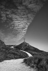 Llanddwyn Cross (dilys_thompson) Tags: llanddwyn llanddwynisland anglesey clouds sky cross path
