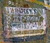 Wrigley's Spearmint (Rob Sneed) Tags: usa texas galveston texana americana wrigleysspearmintgum theflavorlasts advertising brand ghostsign vintage sign urban chewinggum package brickwall trademark authentic gum