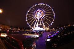 Paris Janvier 2017 - 24 la Grande Roue Place de la Concorde (paspog) Tags: paris france janvier january januar 2017 nuit night nacht placedelaconcorde granderoue