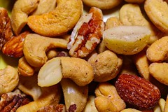 Aw nuts... (chauvin.bill) Tags: mixednuts salted macro