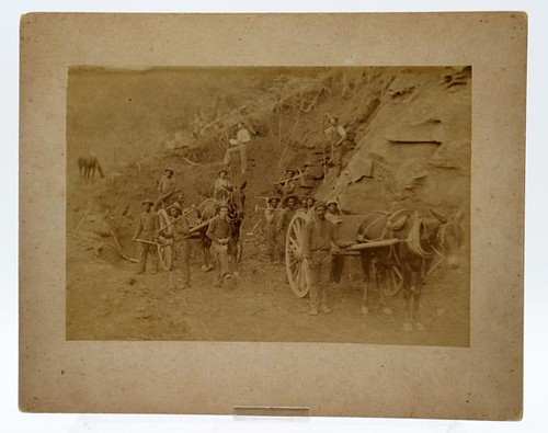 19th c. Black Americana mining photograph ($784.00)