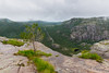 Tree (villeah) Tags: view path landscape tree nopeople nature hiking waterfall preikestolen pulpitrock scenery people norway clouds rogaland no