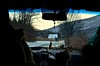 Drive Home (dorianborovac) Tags: outdoor car inside driving snow winter croatia mountains feathers leaves branches nikon d5100 free hand travel trip depthoffield roadtrip